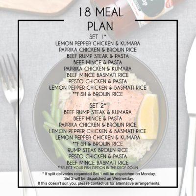18 Meal Plan